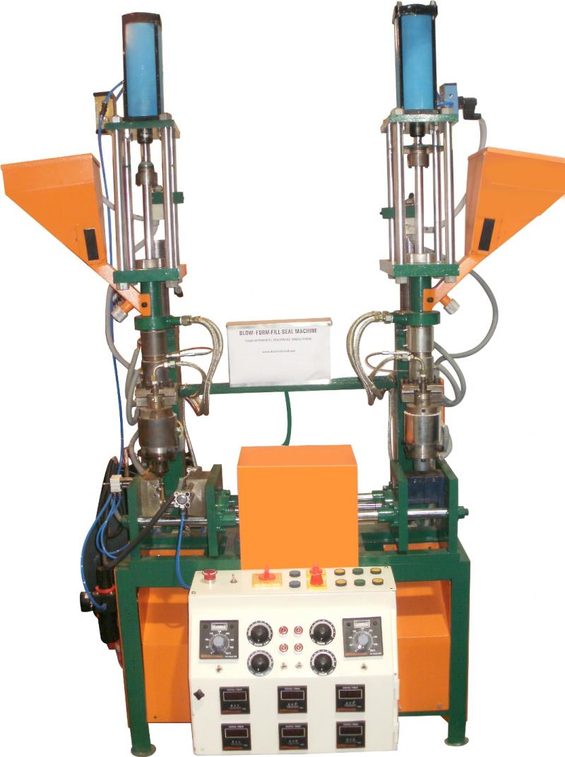 Double Station Mini Blow machine
